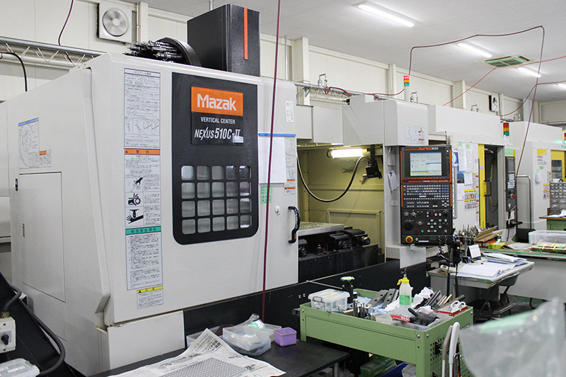 マシニングセンタ(NEXSUS 510C-Ⅱ/ヤマザキマザック