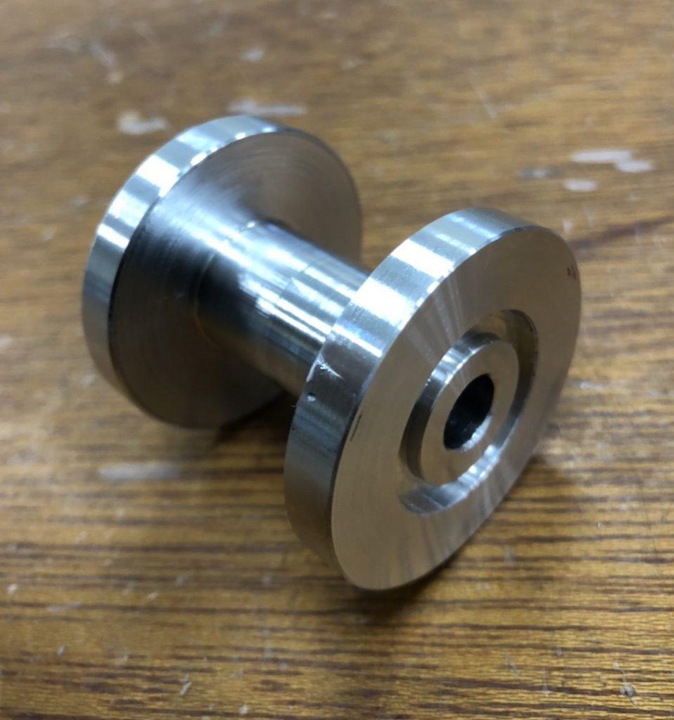 旋盤加工部品/A5056
