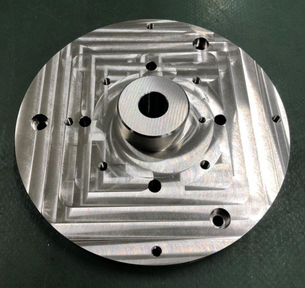 マシニング加工部品/A5052